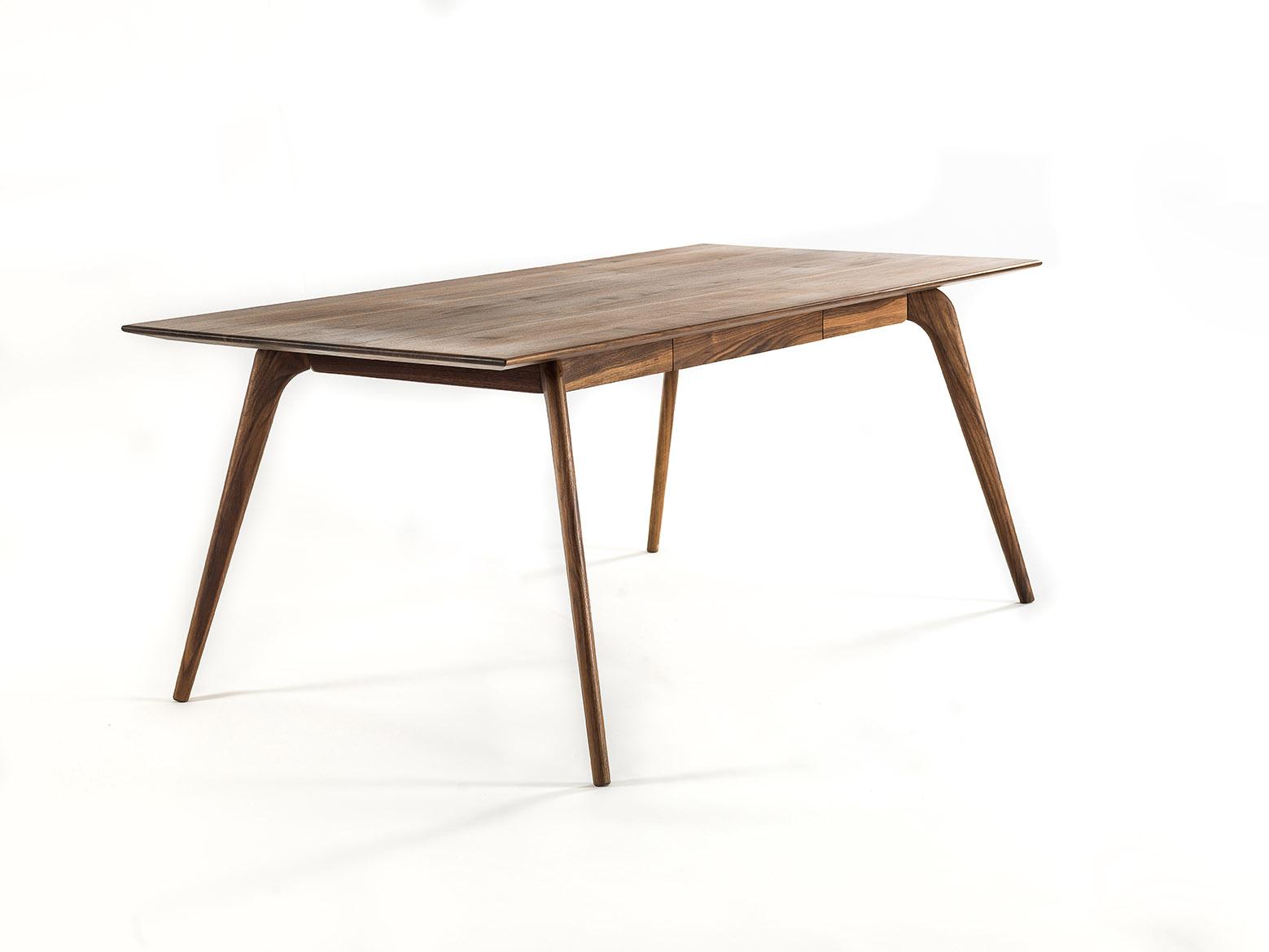 tisch mit schublade. Black Bedroom Furniture Sets. Home Design Ideas
